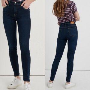 Lucky Brand 6 Bridgette Skinny Ankle Clover Jeans